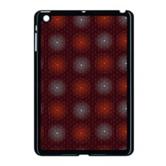 Abstract Dotted Pattern Elegant Background Apple Ipad Mini Case (black)