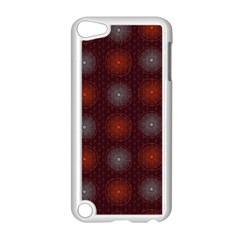Abstract Dotted Pattern Elegant Background Apple iPod Touch 5 Case (White)