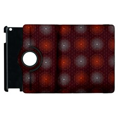 Abstract Dotted Pattern Elegant Background Apple iPad 2 Flip 360 Case