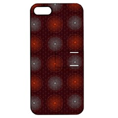 Abstract Dotted Pattern Elegant Background Apple iPhone 5 Hardshell Case with Stand