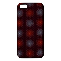 Abstract Dotted Pattern Elegant Background Apple iPhone 5 Premium Hardshell Case
