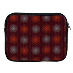Abstract Dotted Pattern Elegant Background Apple iPad 2/3/4 Zipper Cases