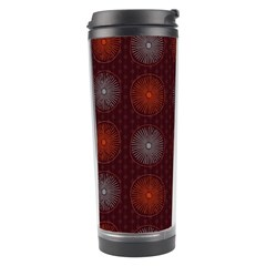 Abstract Dotted Pattern Elegant Background Travel Tumbler