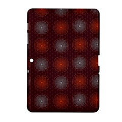Abstract Dotted Pattern Elegant Background Samsung Galaxy Tab 2 (10.1 ) P5100 Hardshell Case