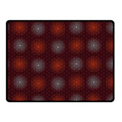 Abstract Dotted Pattern Elegant Background Double Sided Fleece Blanket (small)
