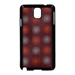 Abstract Dotted Pattern Elegant Background Samsung Galaxy Note 3 Neo Hardshell Case (Black)