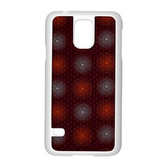Abstract Dotted Pattern Elegant Background Samsung Galaxy S5 Case (White)