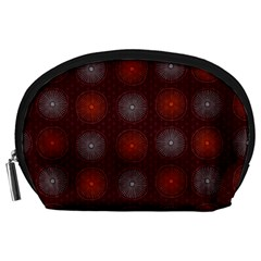 Abstract Dotted Pattern Elegant Background Accessory Pouches (Large)
