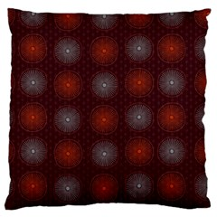 Abstract Dotted Pattern Elegant Background Standard Flano Cushion Case (One Side)