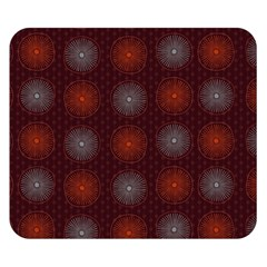 Abstract Dotted Pattern Elegant Background Double Sided Flano Blanket (Small)