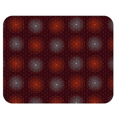 Abstract Dotted Pattern Elegant Background Double Sided Flano Blanket (Medium)