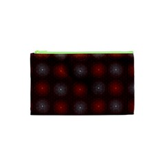 Abstract Dotted Pattern Elegant Background Cosmetic Bag (XS)