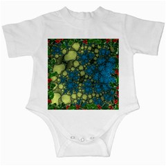 Holly Frame With Stone Fractal Background Infant Creepers