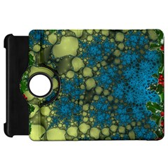 Holly Frame With Stone Fractal Background Kindle Fire HD 7