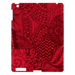Deep Red Background Abstract Apple iPad 3/4 Hardshell Case