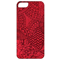 Deep Red Background Abstract Apple iPhone 5 Classic Hardshell Case