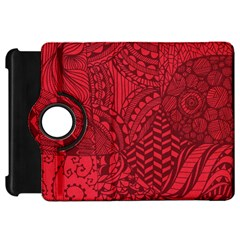 Deep Red Background Abstract Kindle Fire HD 7