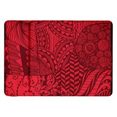 Deep Red Background Abstract Samsung Galaxy Tab 8.9  P7300 Flip Case