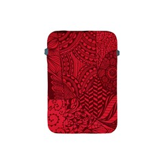 Deep Red Background Abstract Apple Ipad Mini Protective Soft Cases