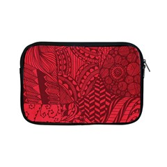 Deep Red Background Abstract Apple iPad Mini Zipper Cases
