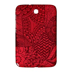 Deep Red Background Abstract Samsung Galaxy Note 8.0 N5100 Hardshell Case