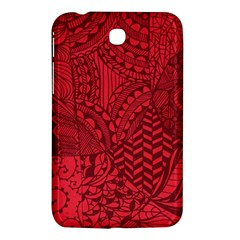 Deep Red Background Abstract Samsung Galaxy Tab 3 (7 ) P3200 Hardshell Case