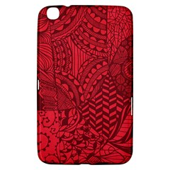 Deep Red Background Abstract Samsung Galaxy Tab 3 (8 ) T3100 Hardshell Case
