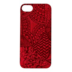 Deep Red Background Abstract Apple Iphone 5s/ Se Hardshell Case