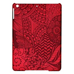 Deep Red Background Abstract Ipad Air Hardshell Cases