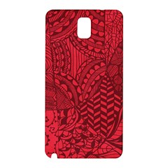 Deep Red Background Abstract Samsung Galaxy Note 3 N9005 Hardshell Back Case