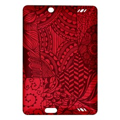 Deep Red Background Abstract Amazon Kindle Fire HD (2013) Hardshell Case