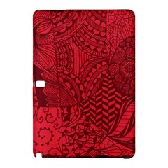 Deep Red Background Abstract Samsung Galaxy Tab Pro 10.1 Hardshell Case