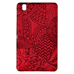 Deep Red Background Abstract Samsung Galaxy Tab Pro 8.4 Hardshell Case
