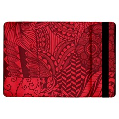 Deep Red Background Abstract iPad Air Flip