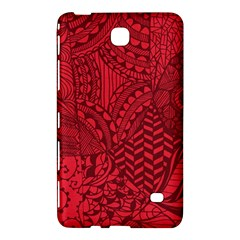 Deep Red Background Abstract Samsung Galaxy Tab 4 (8 ) Hardshell Case