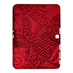Deep Red Background Abstract Samsung Galaxy Tab 4 (10.1 ) Hardshell Case