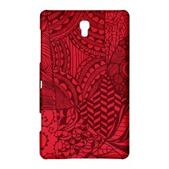 Deep Red Background Abstract Samsung Galaxy Tab S (8.4 ) Hardshell Case