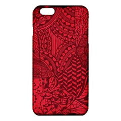 Deep Red Background Abstract iPhone 6 Plus/6S Plus TPU Case