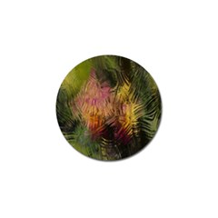 Abstract Brush Strokes In A Floral Pattern  Golf Ball Marker (10 pack)
