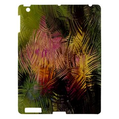 Abstract Brush Strokes In A Floral Pattern  Apple iPad 3/4 Hardshell Case