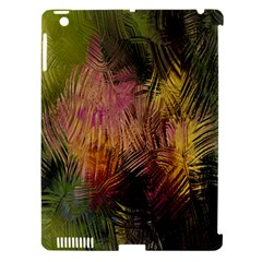 Abstract Brush Strokes In A Floral Pattern  Apple Ipad 3/4 Hardshell Case (compatible With Smart Cover)