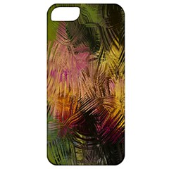 Abstract Brush Strokes In A Floral Pattern  Apple Iphone 5 Classic Hardshell Case