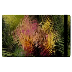 Abstract Brush Strokes In A Floral Pattern  Apple Ipad 3/4 Flip Case
