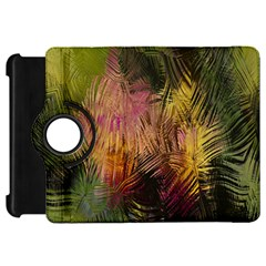 Abstract Brush Strokes In A Floral Pattern  Kindle Fire HD 7
