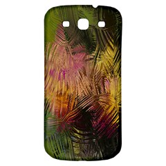 Abstract Brush Strokes In A Floral Pattern  Samsung Galaxy S3 S III Classic Hardshell Back Case