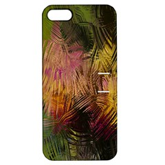 Abstract Brush Strokes In A Floral Pattern  Apple iPhone 5 Hardshell Case with Stand