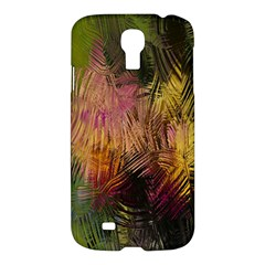 Abstract Brush Strokes In A Floral Pattern  Samsung Galaxy S4 I9500/I9505 Hardshell Case