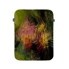 Abstract Brush Strokes In A Floral Pattern  Apple iPad 2/3/4 Protective Soft Cases