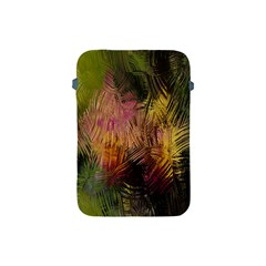 Abstract Brush Strokes In A Floral Pattern  Apple iPad Mini Protective Soft Cases