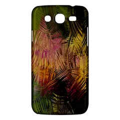 Abstract Brush Strokes In A Floral Pattern  Samsung Galaxy Mega 5.8 I9152 Hardshell Case